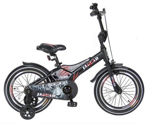 Велосипед Velolider RUSH JAGUAR 16 черный RJ16 velolider ra16 2 х колесный велосипед 16 rush army хаки