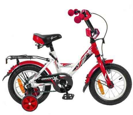 "Велосипед Velolider LIDER ORION 12"" VO12BK белый/красный"