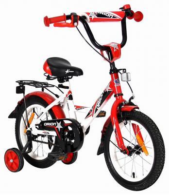 "Велосипед Velolider LIDER ORION 14"" VO14BK белый/красный"