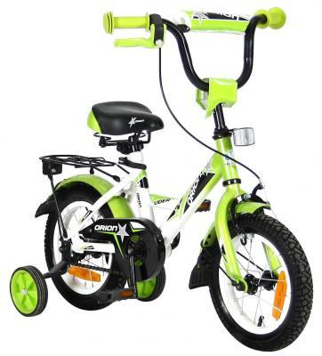 """Велосипед Velolider LIDER ORION 14"""" VO14BZ белый/зеленый"""