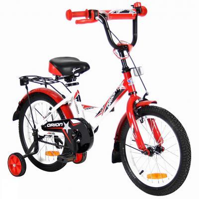 "Велосипед Velolider LIDER ORION 16"" VO16BK белый/красный"