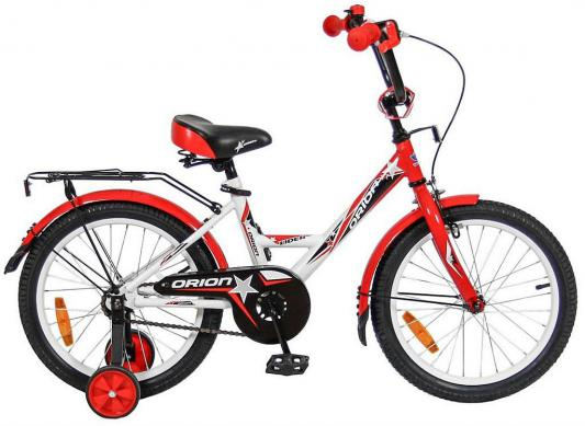 Велосипед Velolider LIDER ORION 18 VO18BK белый/красный велосипед velolider rush army 18 ra18 хаки