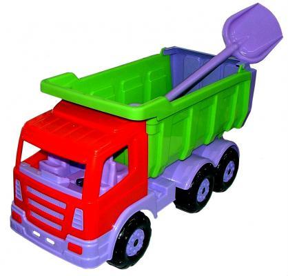 Купить Самосвал Wader Премиум с большой лопатой разноцветный 67 см 9844, Игрушечные машинки