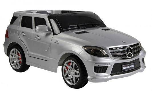 Электромобиль RT Mercedes-Benz AMG 12V R/C silver с резиновыми колесами ML63