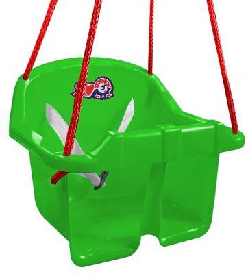 Т3015 Качели Технок с барьером безопасности зеленые
