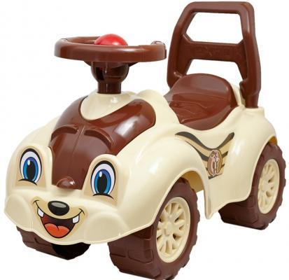 Каталка-толокар R-Toys Zoo Animal Planet Бурундук бежевый от 8 месяцев пластик Т2315