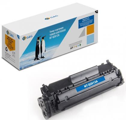 Картридж G&G Q2612A для HP LaserJet 1020/1022/3015/3020/3030 M1319 2000стр Черный