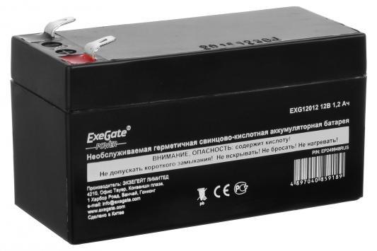 Батарея Exegate 12V 1.2Ah EXG12012