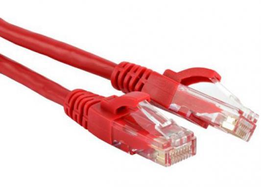 цена на Патч-корд UTP 5E категории 1м Hyperline PC-LPM-UTP-RJ45-RJ45-C5e-1M-LSZH-RD красный