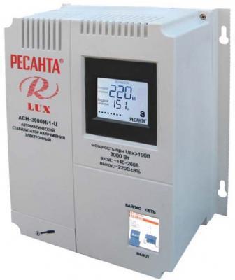 Стабилизатор напряжения Ресанта ACH-3000Н/1-Ц 63/6/21 стабилизатор напряжения ресанта ach 30 000 3 ц