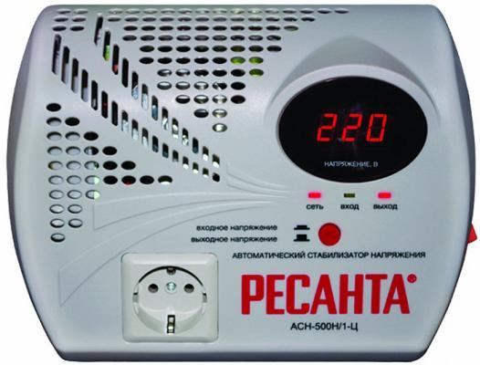 Стабилизатор напряжения Ресанта ACH-500Н/1-Ц 1 розетка