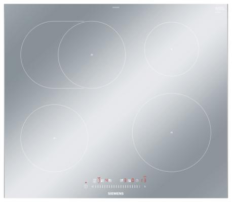 Стеклокерамическая варочная панель Siemens EH679FFB1E независимая сенсорное управление серебристый