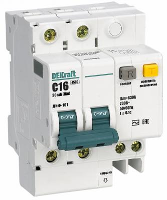 Выключатель дифференциального тока Schneider Electric 2П 16A 30мА AC 15003DEK