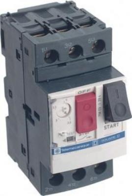 Автоматический выключатель Schneider Electric с регулируемой тепловой защитой 0.63-1А GV2ME05