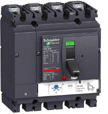 Автоматический выключатель Schneider Electric 250B 4П 4Т LV431130