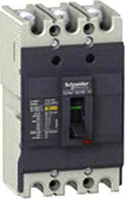 Автоматический выключатель Schneider Electric 3П 40A 10kA EZC100F3040