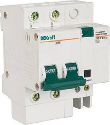 Выключатель дифференциального тока Schneider Electric 2П 10A 30мА AC 15002DEK