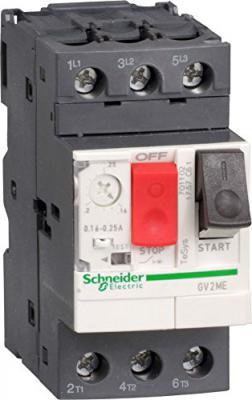 Автоматический выключатель Schneider Electric с регулируемой тепловой защитой 9-14А GV2ME16