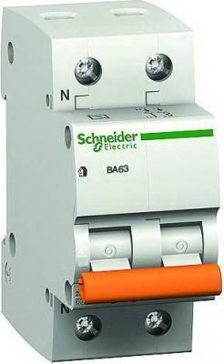 Автоматический выключатель Schneider Electric ВА63 1П+Н 6A C 11211
