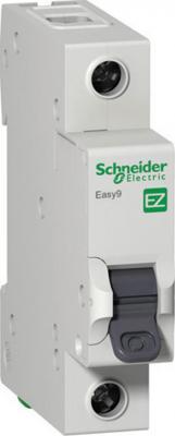 Автоматический выключатель Schneider Electric EASY 9 1П 6A B EZ9F14106