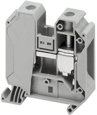 Клеммник Schneider Electric винтовой с заземлением сечением провода 35мм 2 точки подключения NSYTRV352