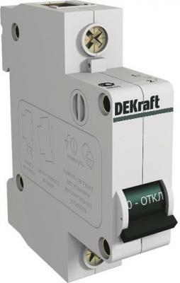 Автоматический выключатель Schneider Electric DEKraft 1П 25A 11056DEK BA-101