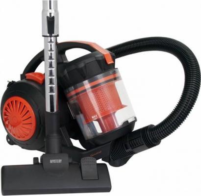 Пылесос Mystery MVC-1124 c мешком сухая уборка 2000Вт черный оранжевый