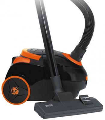 Пылесос Mystery MVC-1122 с мешком 1400Вт черный оранжевый пылесос mystery mvc 1125 оранжевый mvc 1125