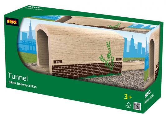 Деревянный туннель с рельсами Brio