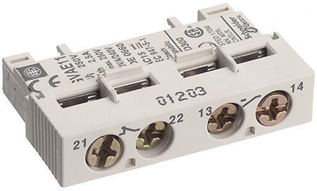 Дополнительный блок контактов но+нз Schneider Electric GVAE11