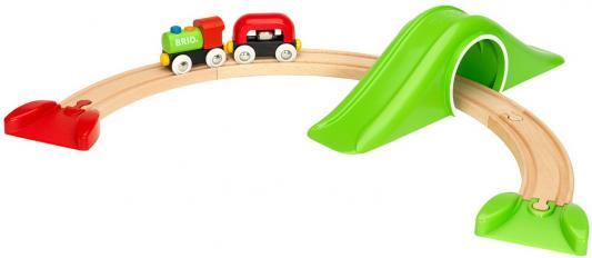 Железная дорога Brio  с горкой-тоннелем Моя первая железная дорога