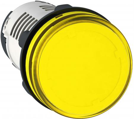 Лампа сигнальная Schneider Electric 22мм 24В желтый XB7EV05BP