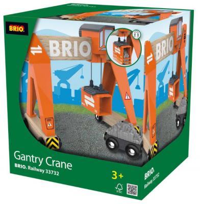 Портовый кран Brio с магнитом, кабиной и вагончиком с грузом