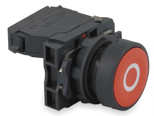 Кнопка Schneider Electric 22мм красный XB5AA4322