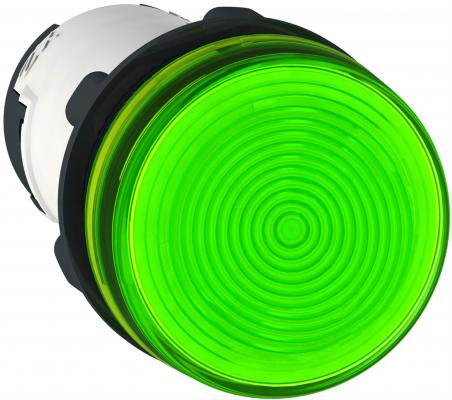 Лампа сигнальная Schneider Electric 22мм 250В зеленый XB7EV63P