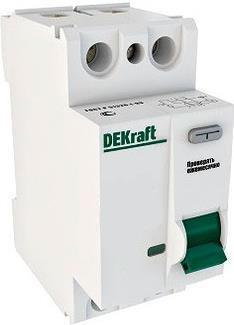 Выключатель дифференциального тока Schneider Electric 2П 16A 10мА AC 14050DEK
