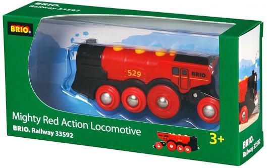 Локомотив Brio красный 33592