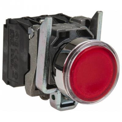 Кнопка Schneider Electric 22мм с возвратом красный XB7NA45 переключатель schneider electric xb5ad41 2 позиции с возвратом 22мм черный