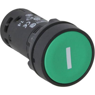 Кнопка Schneider Electric 22мм с возвратом зеленый XB7NA3131 переключатель schneider electric xb5ad41 2 позиции с возвратом 22мм черный