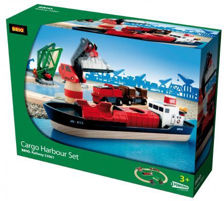 Игровой набор Brio Порт с кораблем