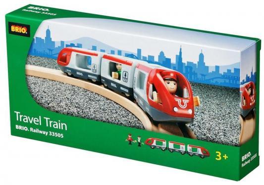 Поезд  Brio  Экспресс Пассажирский 5 элементов 33505