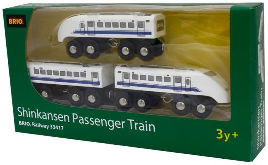 Поезд  Brio  Экспресс Пассажирский 3 элемента 33417