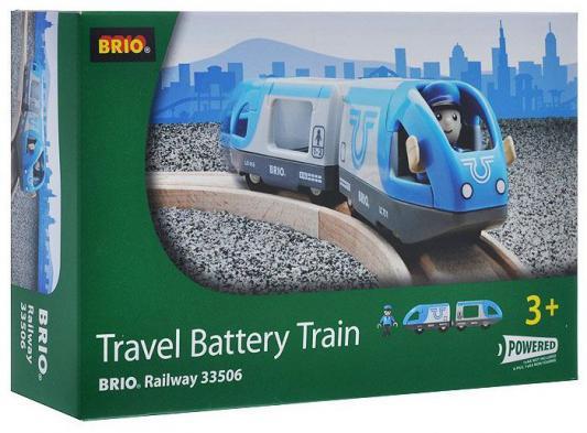 Поезд Brio Экспресс с машинистом с 3-х лет