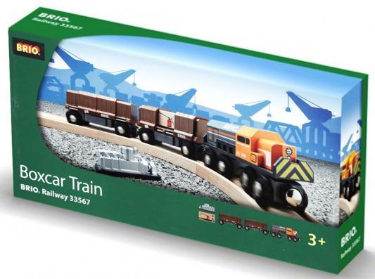 Поезд  Brio Товарный с раздвижными вагонами 33567