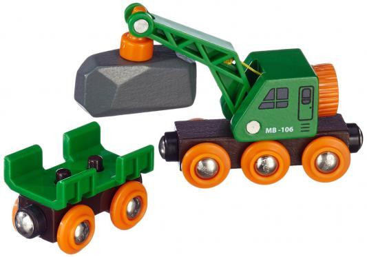 Купить Вагон-подъёмный кран Brio, Детская железная дорога