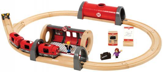 Железная дорога Brio Метро с аксессуарами