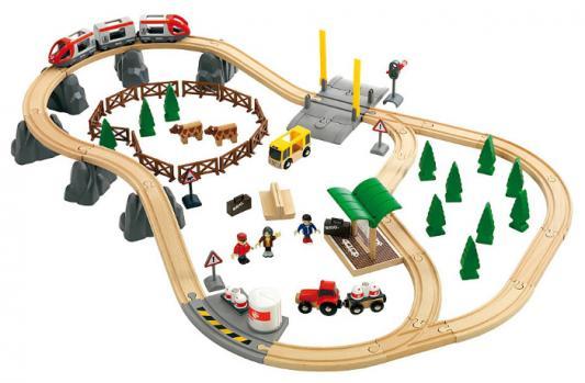 Железная дорога Brio Загородное Путешествие