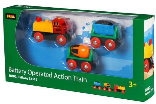 Поезд  Brio  Грузовой с бетономешалкой и грузом угля