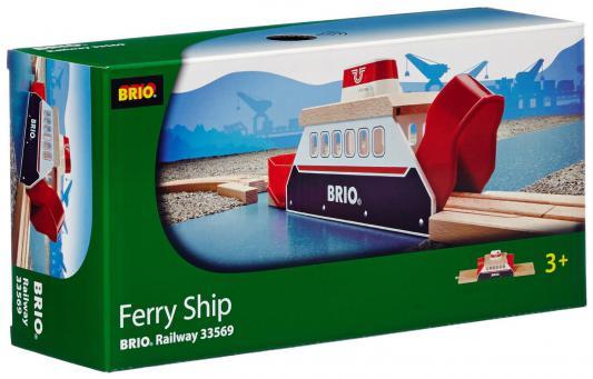 Паром Brio для железной дороги с 3-х лет погрузчик с вращением с магнитом блист brio