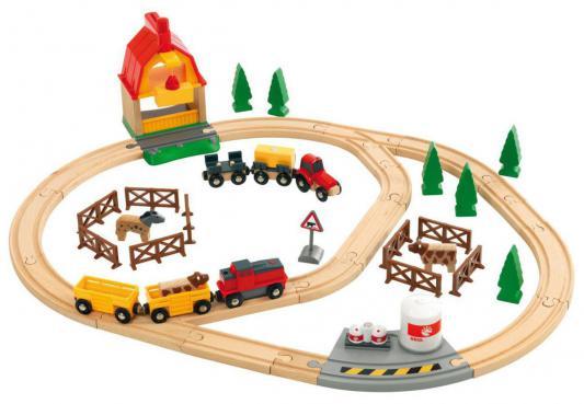 Железная дорога Brio Загородная Ферма